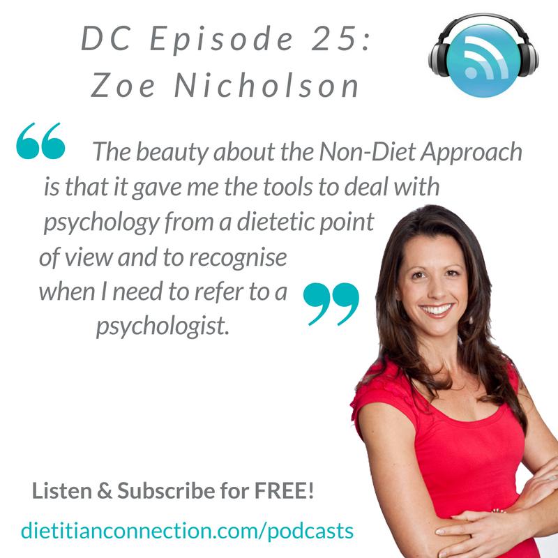 Zoe Nicholson podcast quote