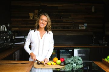 Kate Save, CEO & Co-founder Be Fit Food, delivers fresh, healthy meals